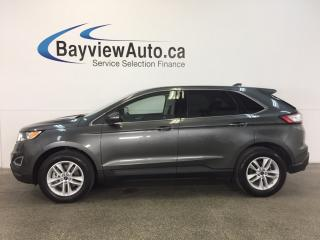 Used 2017 Ford Edge SEL- AWD! PUSH BTN STRT! HTD SEATS! REV CAM! SYNC! for sale in Belleville, ON