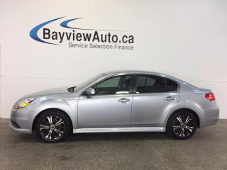 Used 2013 Subaru Legacy - AWD! HEATED SEATS! BLUETOOTH! CRUISE! A/C! for sale in Belleville, ON
