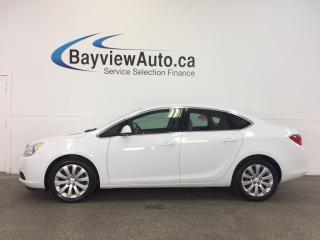 Used 2016 Buick Verano - 2.4L! ALLOYS! DUAL CLIMATE! ON STAR! CRUISE! for sale in Belleville, ON