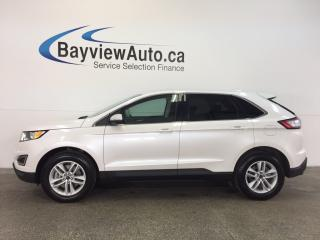 Used 2017 Ford Edge SEL- AWD! 3.5L! HTD SEATS! PUSH BTN STRT! REV CAM! for sale in Belleville, ON