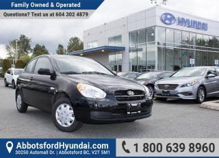 Used 2011 Hyundai Accent BC OWNED, LOW KILOMETRES & GREAT CONDITION for sale in Abbotsford, BC