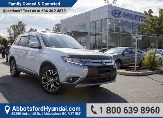 Used 2016 Mitsubishi Outlander ES ACCIDENT FREE & ONE OWNER for sale in Abbotsford, BC