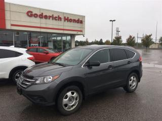 Used 2012 Honda CR-V LX for sale in Goderich, ON