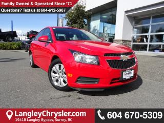 Used 2014 Chevrolet Cruze 1LT *DEALER INSPECTED*PROFESSIONALLY DETAILED* for sale in Surrey, BC