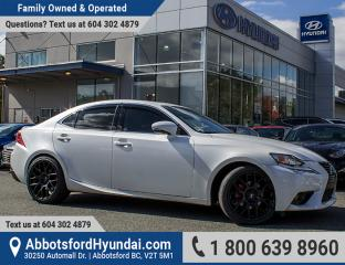 Used 2014 Lexus IS 250 BC OWNED & GREAT CONDITION for sale in Abbotsford, BC