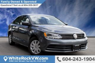 New 2017 Volkswagen Jetta 1.4 TSI Trendline+ Rear View Camera, Bluetooth & Heated Front Seats for sale in Surrey, BC