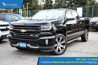 New 2018 Chevrolet Silverado 1500 2LZ Navigation, Sunroof, and Heated Seats for sale in Port Coquitlam, BC