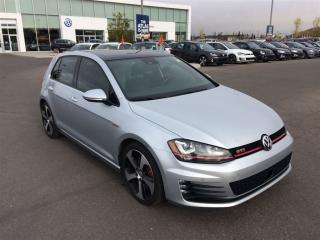 Used 2016 Volkswagen Golf GTI 5-Door Performance for sale in Calgary, AB