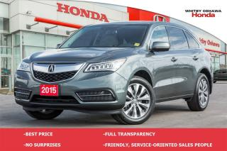 Used 2015 Acura MDX SH-AWD Technology Package | Automatic for sale in Whitby, ON