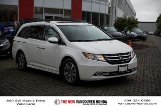 Used 2016 Honda Odyssey Touring for sale in Vancouver, BC