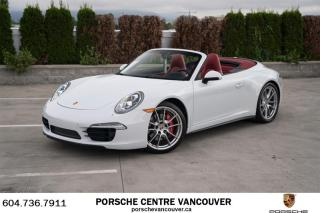 Used 2015 Porsche 911 Carrera 4S Cabriolet PDK for sale in Vancouver, BC