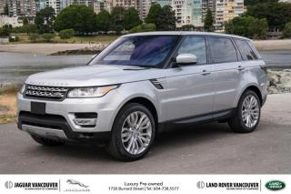 Used 2017 Land Rover Range Rover Sport Diesel Td6 HSE Certified Pre-Owned! for sale in Vancouver, BC