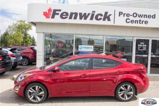 Used 2016 Hyundai Elantra Sedan GLS - at for sale in Sarnia, ON