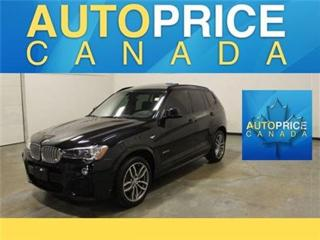 Used 2016 BMW X3 X-Drive35 M-SPORT NAVI PANOROOFi for sale in Mississauga, ON