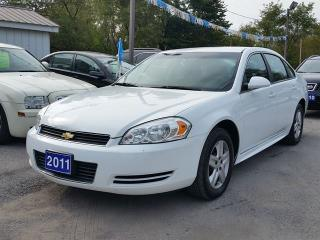 Used 2011 Chevrolet Impala LS..certified..low kms!!! for sale in Oshawa, ON