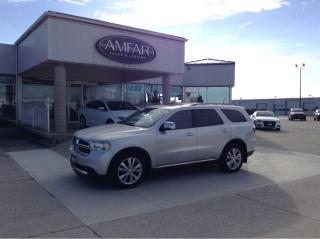 Used 2011 Dodge Durango NAV /DVD / AWD / NO PAYMENTS FOR 6 MONTHS !! for sale in Tilbury, ON