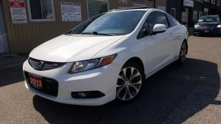 Used 2012 Honda Civic Si-SUNROOF-NAVIGATION-SUPER CLEAN for sale in Tilbury, ON