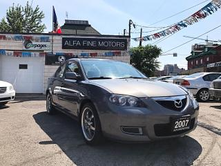 Used 2007 Mazda MAZDA3 ALLOYS & SUNROOF ((CERTIFIED)) for sale in Hamilton, ON