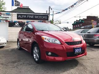 Used 2013 Toyota Matrix ONE OWNER ACCIDENT FREE ((CERTIFIED)) for sale in Hamilton, ON