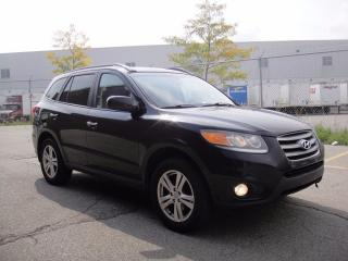Used 2012 Hyundai Santa Fe LIMITED AWD V6-LOADED,NAVI,XM,HEATED LEATHER for sale in North York, ON