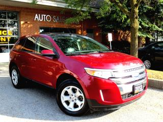 Used 2013 Ford Edge SEL,Leather,BackUp Cam,Navi,CERTIFIED for sale in Concord, ON