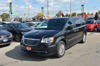 Used 2016 Chrysler Town & Country Touring-L - Leather, DVD, Pwr Doors, Bluetooth for sale in London, ON