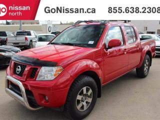 Used 2010 Nissan Frontier PRO-4X 4x4 Crew Cab LEATHER, SUNROOF, HEATED SEATS for sale in Edmonton, AB