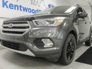 Used 2017 Ford Escape SE 4WD ecoboost with twin panel sunroof, back up cam, power heated seats, and keyless entry for sale in Edmonton, AB