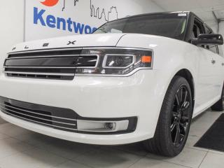 Used 2017 Ford Flex Limited with NAV, FOUR SUNROOFS, back up cam, keyless entry, power liftgate! It's a comfortable, beautiful, tank! for sale in Edmonton, AB