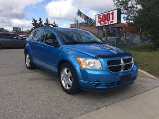 Used 2009 Dodge Caliber SXT,129K,EXTRA CLEAN,SAFETY+3YEARS WARRANTY INCLUD for sale in North York, ON