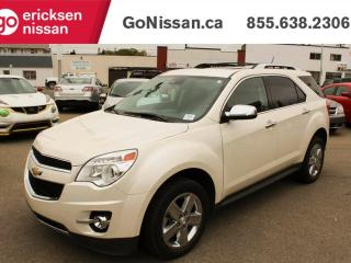 Used 2014 Chevrolet Equinox LTZ -NAVIGATION, LEATHER, SUNROOF for sale in Edmonton, AB