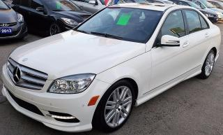 Used 2011 Mercedes-Benz C250 4Matic for sale in Hamilton, ON