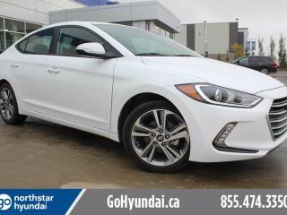 Used 2017 Hyundai Elantra GLS SUNROOF/PUSH START/BACKUP CAM for sale in Edmonton, AB