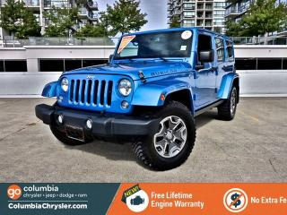 Used 2014 Jeep Wrangler Unlimited Rubicon for sale in Richmond, BC