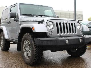 Used 2015 Jeep Wrangler RUBICON, HEATED SEATS, BLUETOOTH, CRUISE CONTROL, SIRIUS, USB / AUX for sale in Edmonton, AB