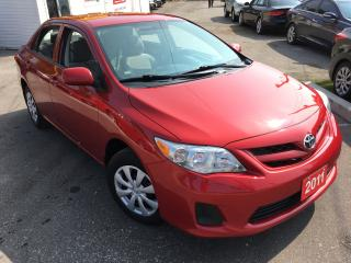 Used 2011 Toyota Corolla CE/AUTO/LOW MILEAGE/4CYL/DRIVES LIKE NEW for sale in Scarborough, ON