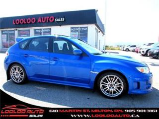 Used 2014 Subaru Impreza WRX STi STI SPORT-TECH NAVIGATION CERTIFIED for sale in Milton, ON