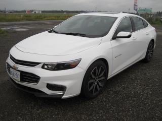 Used 2016 Chevrolet Malibu North for sale in Thunder Bay, ON