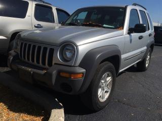 Used 2003 Jeep Liberty Sport for sale in Burlington, ON