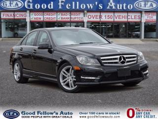 Used 2013 Mercedes-Benz C 300 PWR MOONROOF, LTD/ GRAND EDN/ PREMIUM/ SPORT PKG for sale in North York, ON
