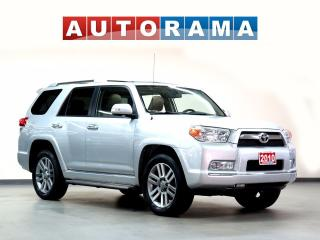 Used 2010 Toyota 4Runner NAVIGATION BACKUP CAM 7 PASS LEATHER SUNROOF 4X4 for sale in North York, ON