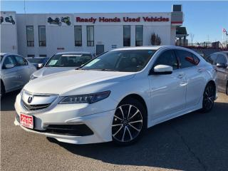 Used 2015 Acura TLX V6 Tech - Navigation - Leather - Roof for sale in Mississauga, ON