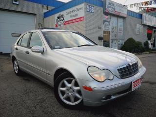 Used 2003 Mercedes-Benz C240 4MATIC w/Sunroof_Leather Seats for sale in Oakville, ON