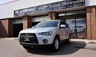 Used 2010 Mitsubishi Outlander 7 PASSENGERS LS AWD NO ACCIDENT for sale in Mississauga, ON