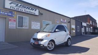Used 2013 Smart fortwo PURE-NAVIGATION-AIR-ALLOY WHEELS-BLUETOOTH for sale in Tilbury, ON