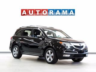 Used 2013 Acura MDX TEC PKG NAVI BACKUP CAM LEATHER SUNROOF 7 PASS 4WD for sale in North York, ON