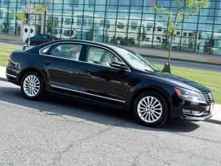 Used 2013 Volkswagen Passat TDI|NAVI|REARCAM|SUNROOF|LEATHER for sale in Scarborough, ON