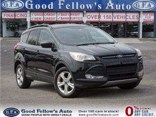 Used 2015 Ford Escape SE MODEL, 4WD, CAMERA, 2L ECOBOOST for sale in North York, ON