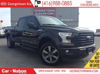Used 2015 Ford F-150 SPORT | LEATHER| PANO ROOF| ONE OWNER| NO ACCIDENT for sale in Georgetown, ON