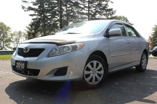Used 2010 Toyota Corolla CE for sale in Oshawa, ON